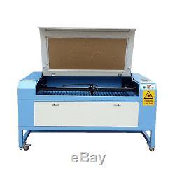 Nouveau! Reci W2 100w Laser Co2 Machine De Gravure Et Découpe 1300mm 900mm Port Usb