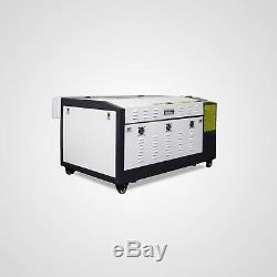 Nouveau! Ruida 50w Gravure Au Laser Et Machine De Coupe Avec Motorisé Tableau 16''x24