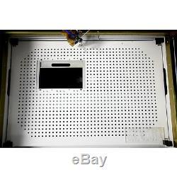Nouveau! Ruida 80w Co2 Gravure Au Laser Et La Machine De Découpage Avec Motorisé Table 16''x24
