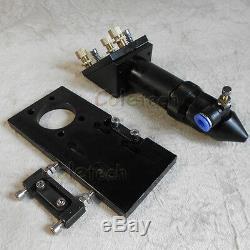 Nouveau Style Co2 Laser Head 63.5mm Ensemble Focal / Pour Machine De Découpe Laser De Gravure