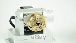 Nouveaux Rotary 4 Axes Joaillerie Laser Laser Lit Marquage / Gravure / Système De Coupe