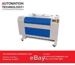 Nouvelle Coupe Graveuse / Co2 Machine De Gravure Laser Automatique Up & Plate-forme Vers Le Bas