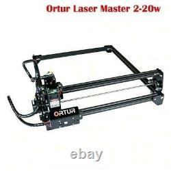 Ortur Laser Master 2-20w Machine De Découpe De Gravure + Accessoires Complets Grand Travail
