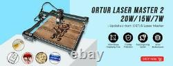 Ortur Laser Master 2 Laser Gravure Machine De Coupe Avec Carte Mère 32 Bits