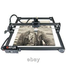 Ortur Laser Master 2 Machine De Découpe De Gravure Au Laser Avec Carte Mère 32 Bits