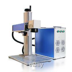 Raycus 100w Fibre Machine De Marquage Laser Coupe En Métal Usb, Aluminium Marque Pc Coupure Profonde
