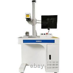 Raycus100w Usb Fiber Laser Marking Machine Metal Gravure En Métal Or Argent Coupé