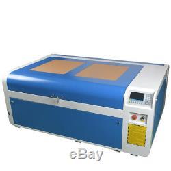 Rd Dsp1060 100w Laser Co2 Machine De Découpage Mise Au Point Automatique Et Cw-5000 Chiller Reci Tube