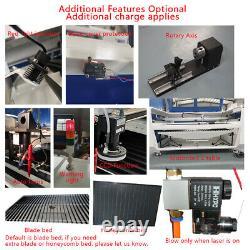Reci 130w W4 Co2 Lasergraver Cutting Machine 1300x900mm Motorisé Z Rotary
