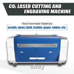 Reci 180w Co2 Laser Machine De Découpage 51x35 (1300x900mm) Laser Cutter Graveuse