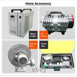 Reci Co2 130w Laser Cutting Machine 1300900mm Électrique De Haut En Bas Table