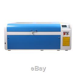 Reci W2 100w Laser Co2 Cutter Découpe Laser Gravure Cw5000 Rail De Guidage Linéaire Us Navire