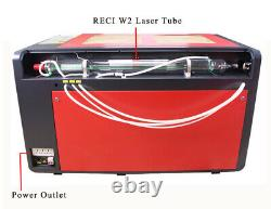 Reci W6 130w Co2 Laser Cutting And Engraving Machine 1000mm X 600mm Avec Red-dot