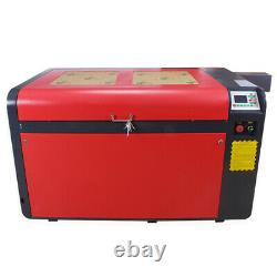 Reci W6 130w Co2 Machine De Découpe À Gravure Laser Auto-focus&cw5000 Chiller À Eau
