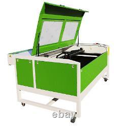 Reci100w Co2 Laser Machine De Découpe Et De Gravure 1300900mm Table Motorisée Usb