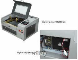 Rte-high 40w Co2 Laser Usb Graveuse Machine De Gravure Laser De Découpe 300x400mm