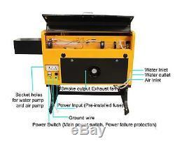Rte-high Co2 60w Gravure Au Laser Machine De Découpe Avec Port Usb 400x600mm
