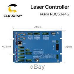 Ruida Co2 Laser Controller Rdc6344g 7 Écran Tactile Dsp Pour La Coupe Graveuse