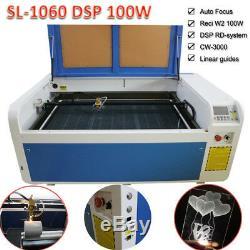 Ruida Dsp 100w 1060 Co2 Laser Engraver Machine De Découpe Et Reci Tube Axe Rotatif