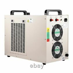 Ruida Dsp Co2 100w Laser Cutting Graver Machine Xy Linear Guide Cw5000 Chiller