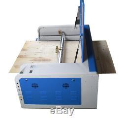 Ruida Dsp1060 100w Découpe Laser Machine Xy Linéaire Graveuse Guide Cw5000 Chiller