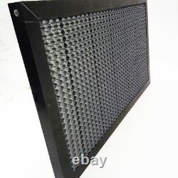 Table En Nid D'abeille Pour Graveur Laser Co2 Machine De Coupe 90x60cm En Fer Galvanisé
