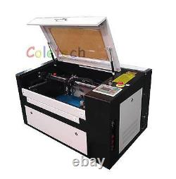 Toute Nouvelle Machine À Découper Au Laser Co2 De 60w Avec Dispositif Rotatif Auxiliaire B