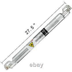 Tube Laser Co2 40w 700mm Pour Graveur De Machines De Coupe De Gravure