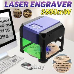Us 3500mw Usb 3d Laser Gravure Machine Gravure Graveur Cnc Diy Logo Printer