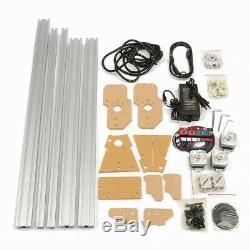 Us 50x65cm Gravure Au Laser Machine De Découpe Cnc Graveuse Imprimante Kit 300mw