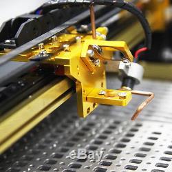 Usb 40w Co2 Laser Gravure & Coupe Machine Rail Drive Machine 12''x8 '' Nouveau