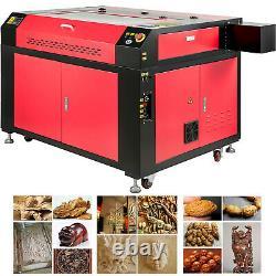 Vevor 100w Co2 Laser Gravure Machine À Découper 36x24 Avec Disque Usb Ruida Panel